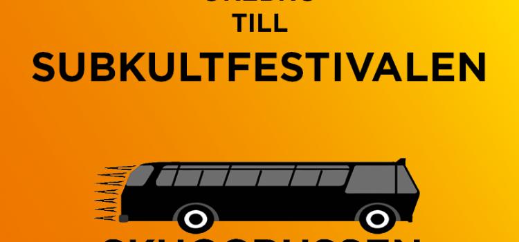 Skuggbussen to Subkultfestivalen 2018